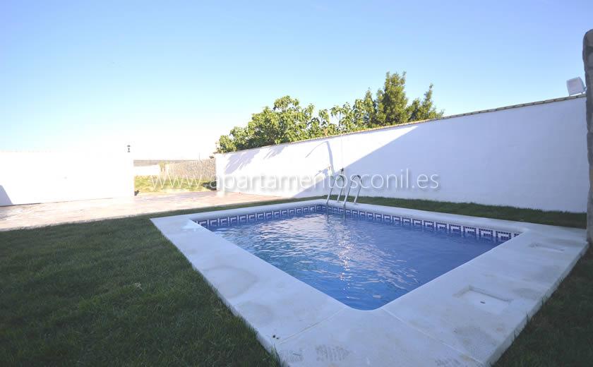 Piscina privada en Conil
