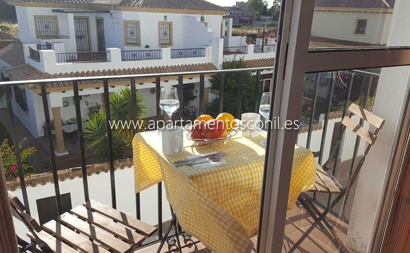 Apartamento Conil con terraza